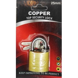 CANDADO COPPER 25MM