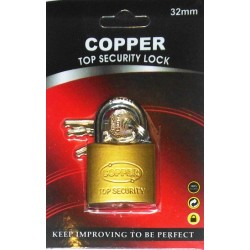 CANDADO COPPER 32MM
