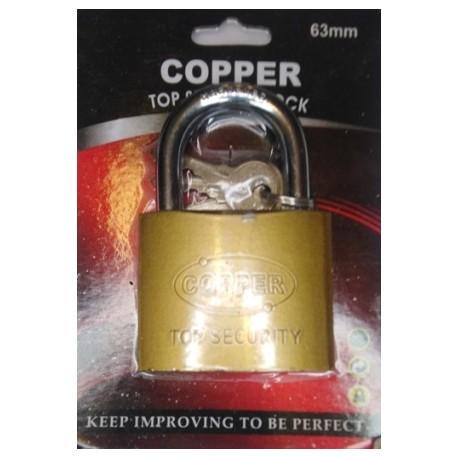 CANDADO COPPER 63MM