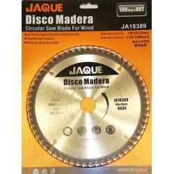 DISCO CORTE MADERA 180MM X 60T