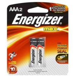 PILAS ENERGIZER AAA BLISTER 2UNDS.
