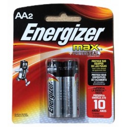 PILAS ENERGIZER AA BLISTER 2UNDS.