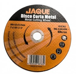 "DISCO CORTE METAL 7"" X 1.6MM"