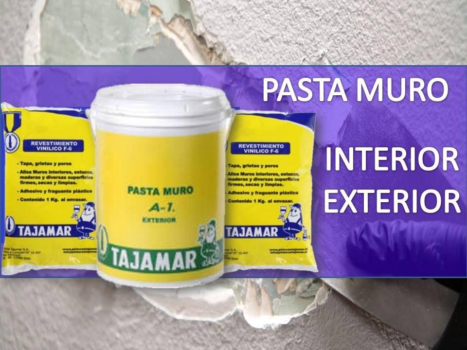 PASTA PARA MURO INTERIOR/EXTERIOR